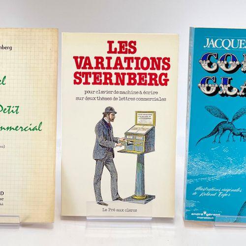 STERNBERG. Trois ouvrages. STERNBERG Jacques. Manuel du parfait petit secrétaire…