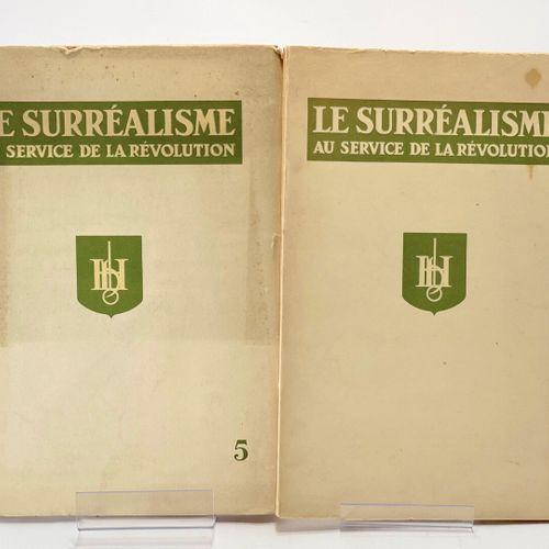 BRETON. Le Surréalisme au service de la révolution n° 5 et 6. BRETON André [dir.…