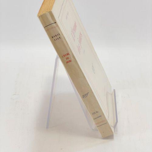 VIAN. L'Ecume des jours. VIAN Boris. L'Ecume des jours.  Paris, NRF, Gallimard, …