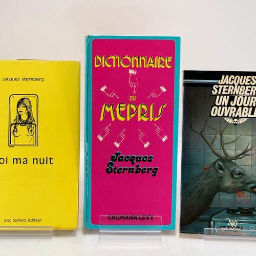 STERNBERG. Trois ouvrages. STERNBERG Jacques. Dictionnaire du mépris.  Paris, Ca…