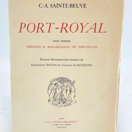 SAINTE BEUVE. Port Royal. SAINTE BEUVE C. A.. Port Royal. Edition documentaire é…