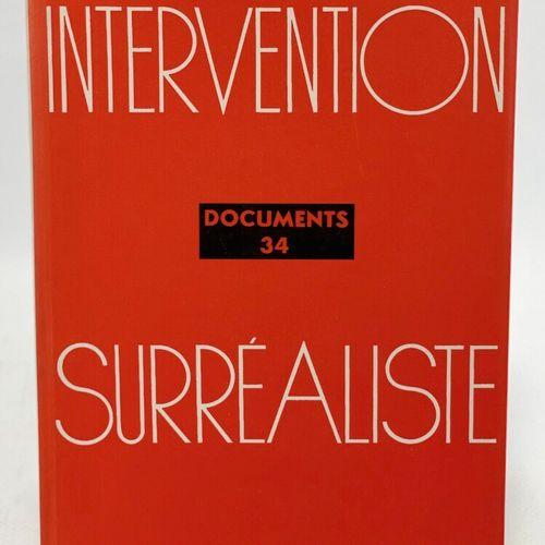 Surréalisme. Cinq ouvrages de documentation. ELUARD Paul, BRETON André. Dictionn…
