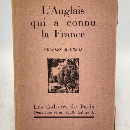 MAURRAS. Réunion de 6 ouvrages. MAURRAS Charles. Anatole France. Politique et po…