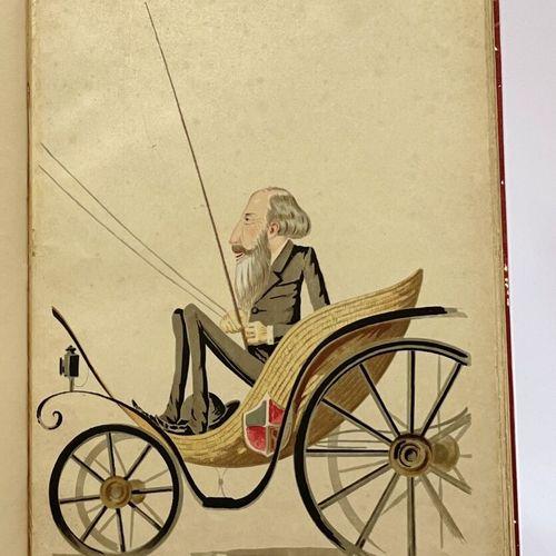 VALENTE. Caricatures du Caire. VALENTE. Caricatures du Caire.  S.L.N.D.  39 x 29…