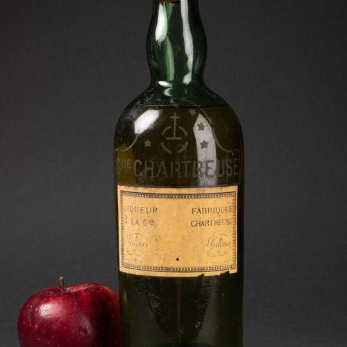 GRANDE CHARTREUSE BOUTEILLE de CHARTREUSE, fabrication L. Garnier, déposée 1 7 6…