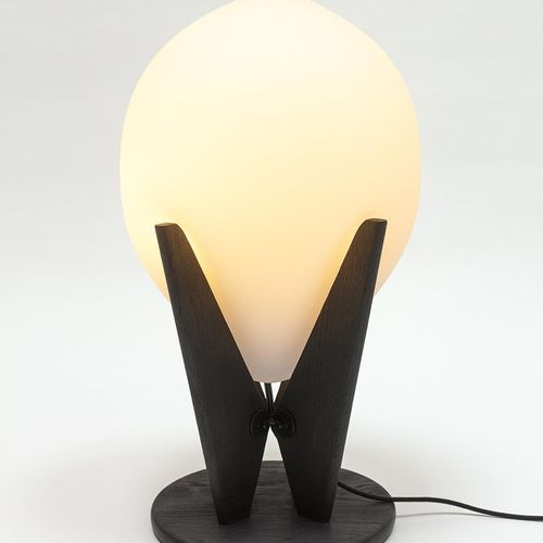 "Pierre Yovanovitch Major Tom, blown glass lamp  ""I have diverted the use of the …"
