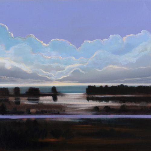 Olivier Masmonteil Landscape of my childhood, oil on canvas, 65 x 81 cm  Olivier…