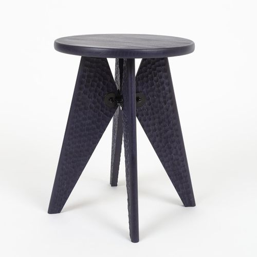 Flavien Delbergue Solvayless  An iconic piece by Jean Prouvé, the Solvay stool i…