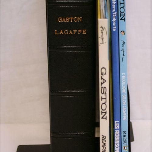 FRANQUIN FRANQUIN  GASTON LAGAFFE  Set of books and albums on Gaston Lagaffe :  …