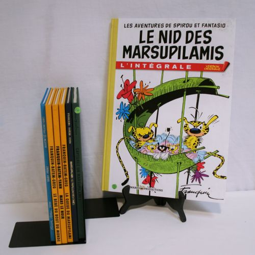 FRANQUIN FRANQUIN Set of 7 comics: The Marsupilami. Volume 2: Le bébé du bout du…
