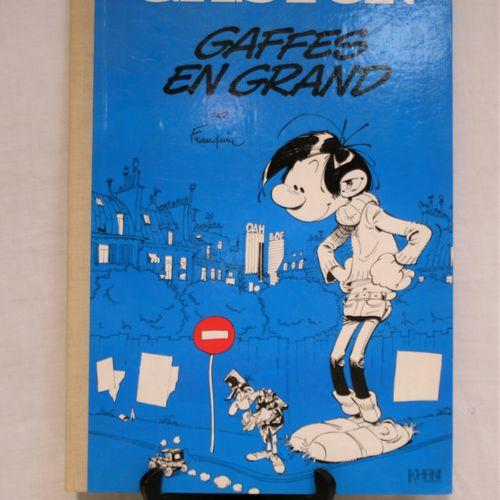 FRANQUIN FRANQUIN    GASTON LAGAFFE  Big gaffes  Edition of 1000 copies numbered…