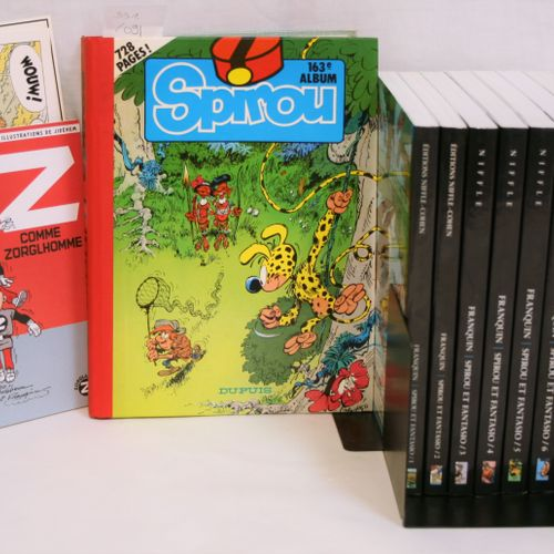 FRANQUIN FRANQUIN    SPIROU AND FANTASIO  NIFFLE (Anthology), The complete works…