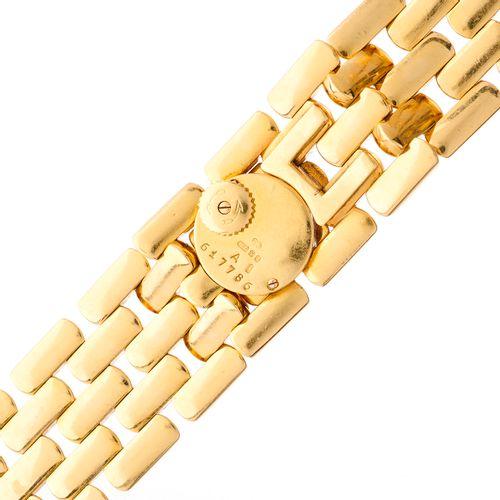 Jaeger LeCoultre, une montre bracelet à maillons en or 18ct, avec couvercle à ch…
