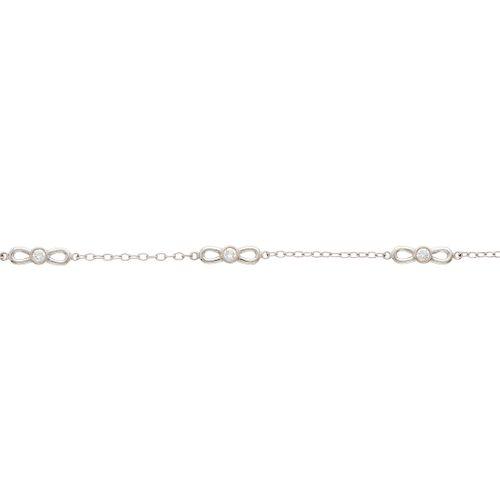 Tiffany & Co, un bracelet en or 18ct en forme d'arc en diamants taille brillant,…