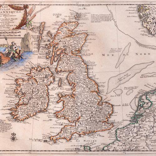 Pieter VANDER AA Ireland. And:] The British Isles. Leide, Pieter Vander AA, n.D.…