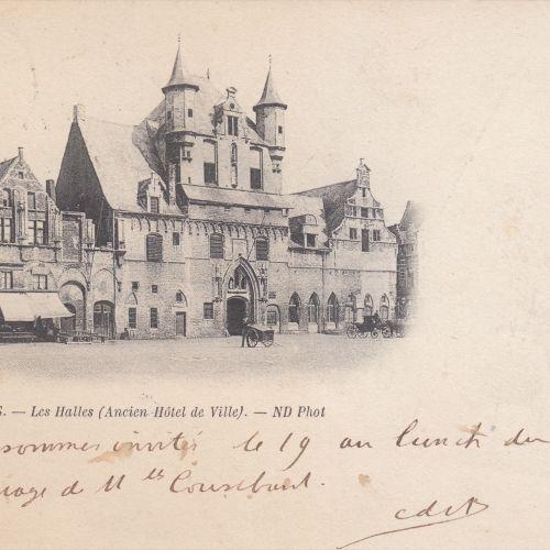 PROVINCES D'ANVERS & LIMBOURG. Environ 130 cartes postales, époques diverses. Do…