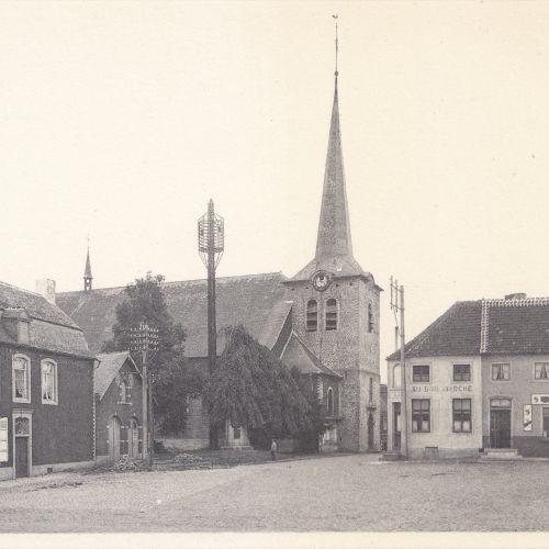 BRABANT FLAMAND & WALLON. Environ 120 cartes postales, époques diverses. Brabant…