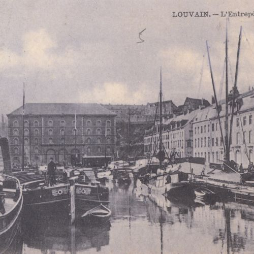 BRABANT FLAMAND : Louvain, Montaigu... Environ 65 cartes postales.