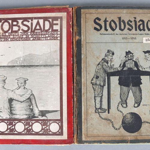 Stobsiade: Zeitung des deutschen Kriegsgefangenen Lagers Stobs in Schottland, 19…