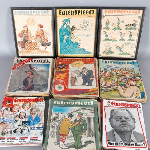 Konvolut Eulenspiegel, ca. 150 Ausgaben, ,enthält ca. 22 Hefte aus den 70ern (ab…
