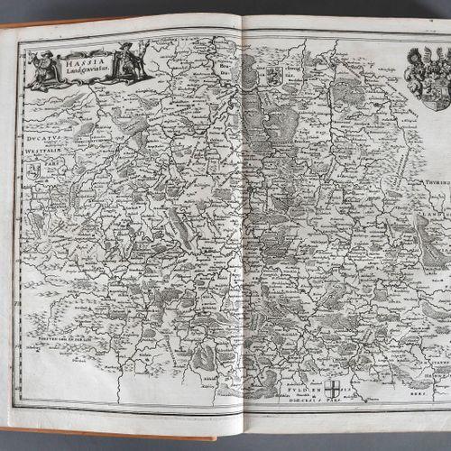 Matthäus Merian (Stiche) und Martin Zeiller (Text), Topographia Hassiae et Regio…