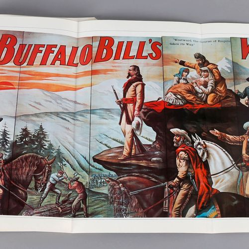 100 Poster: Buffalo Bill´s Wild West, Jack Rennert, Rembrandt Verlag, Berlin, 19…