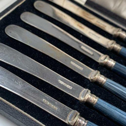 An Edwardian silver butter knife of unusually ornate design by A J Bailey Birmin…