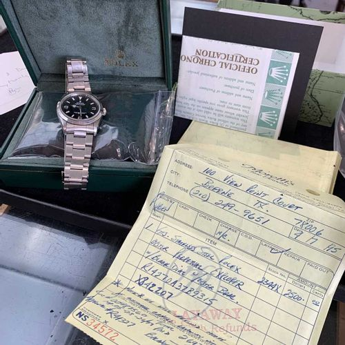 A Gentleman's Rolex Oyster Perpetual Explorer I wristwatch model R14270A Formerl…