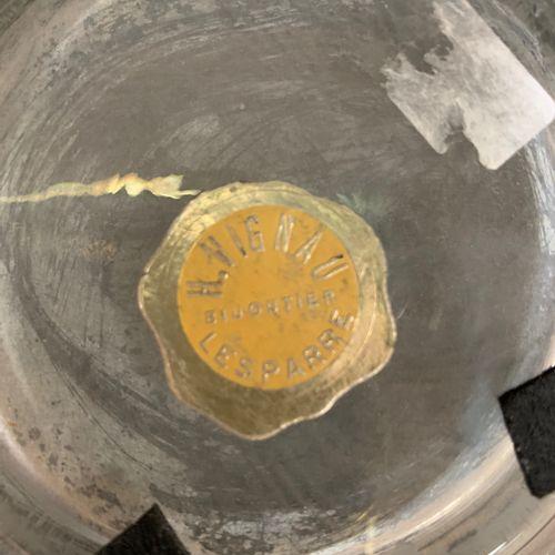 DAUM NANCY H.VIGNEAU BIJOUTIER LESPARRE DAUM NANCY Année 1930. Vase en cristal D…