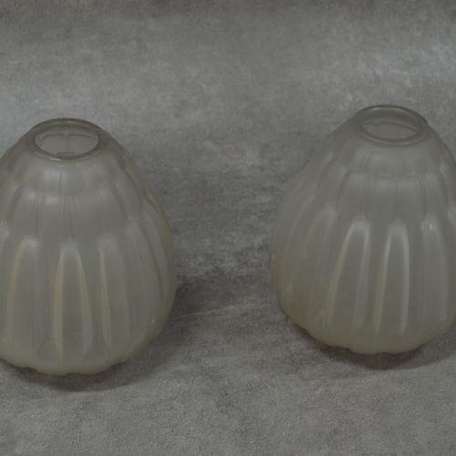 André HUNEBELLE Luxueuse paire de vases André HUNEBELLE (1896 1985) Modèle Chrys…