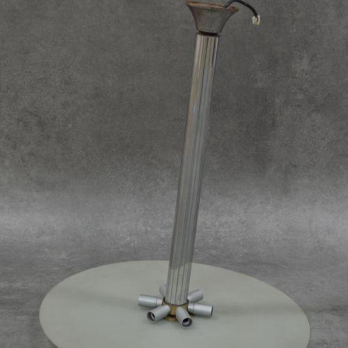 Lustre Art Déco Lustre Art Déco . Métal et verre. Années 1930 . Diamètre : 60 cm…