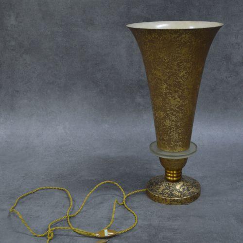 Philippe GENET et Lucien MICHON Lampe Art Déco Philippe Genet et Lucien Michon, …