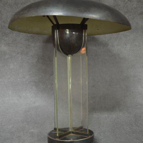 Jacques Adnet Jacques ADNET (1900 1984), attribuée à. Très belle lampe cruciform…