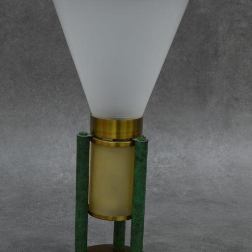Jean boris Lacroix Très belle lampe de table Jean Boris LACROIX (1902 1984), att…