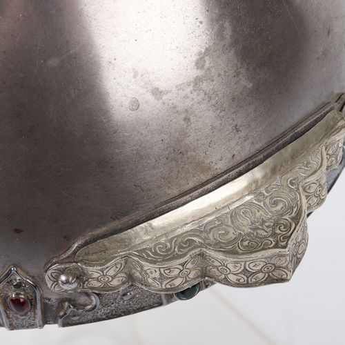 Bhutanese Helmet Possibly 18th or 19th CenturyBhutanese Helmet Possibly 18th or …