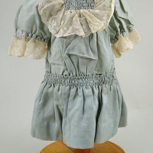 A sweet original eau de nil dolls dress for Bebe, French 1890s, A sweet original…