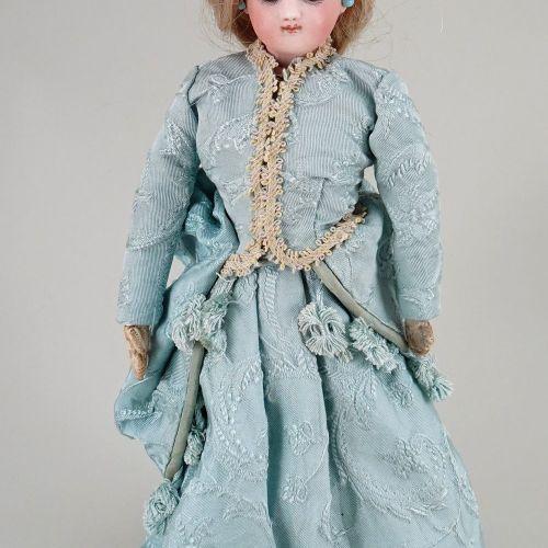 A rare size 1 Jumeau bisque shoulder head fashion doll, French circa 1870, A rar…