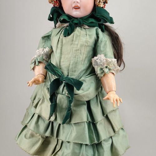 A Jumeau 1907 bisque head Bebe, size 12, French, circa 1900, A Jumeau 1907 bisqu…