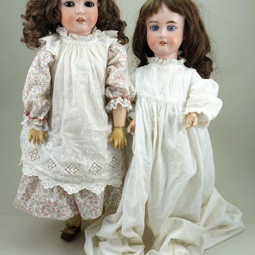 A Schoenau & Hoffmeister 5800 bisque head doll, German circa 1910, A Schoenau & …