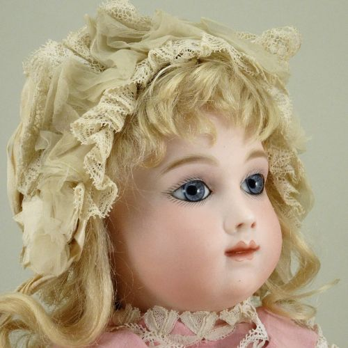 Outstanding and rare A.T Andre Thuillier bisque head Bebe doll, size 7, French c…