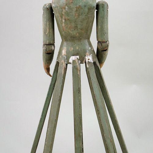 A rare Santos carved wooden Creche figure, Southern European, circa 1850, A rare…