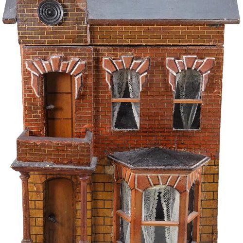 A Moritz Gottschalk dolls house with furniture, German circa 1890, A Moritz Gott…