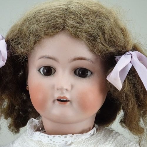 A large Kammer & Reinhardt/S&H bisque head doll, German circa 1910, A large Kamm…