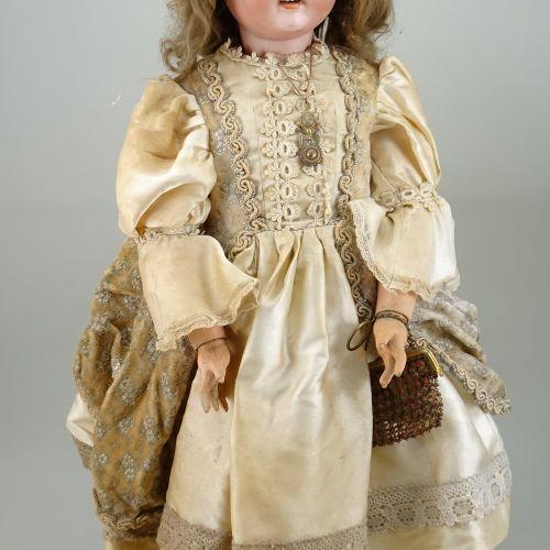 Schoenau & Hoffmeister 1906 bisque head doll, German circa 1910, Schoenau & Hoff…