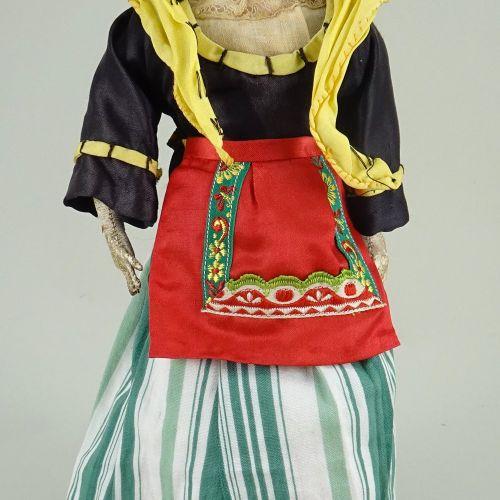 An F.G bisque shoulder head fashion doll, French circa 1870, An F.G bisque shoul…