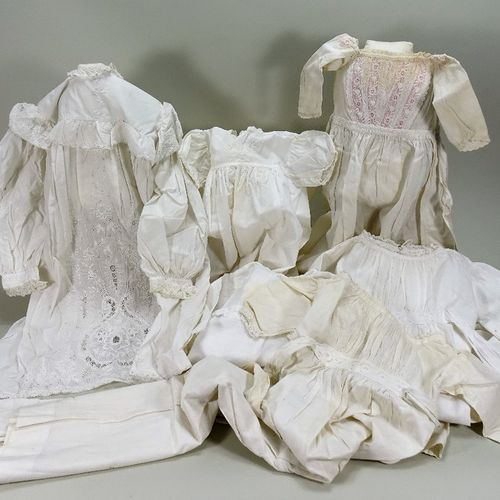 A collection of baby gowns, 1880s 1900's, A collection of baby gowns, 1880s 1900…