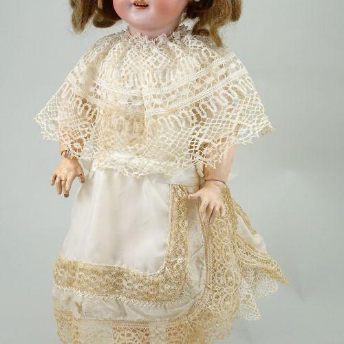 A DEP bisque head doll, German for French market, circa 1910, A DEP bisque head …
