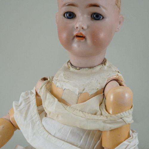 A Kammer & Reinhardt/S&H bisque head doll, German circa 1910, A Kammer & Reinhar…