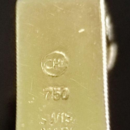 Montre bracelet de dame, Tissot, cadran ovale croisé (20x24mm) avec index rectan…