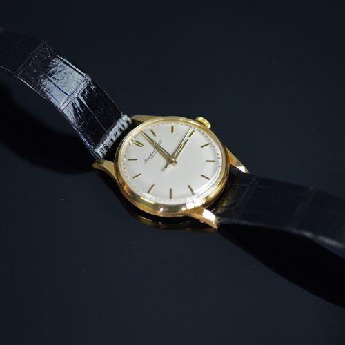 手表,IWC,750/18K黄金,机芯:编号1585255,机芯89,16颗宝石,用表冠手动上链,宝玑游丝,带灯笼 分钟管的手动机芯,瑞士宝石杠杆擒纵机构,19…